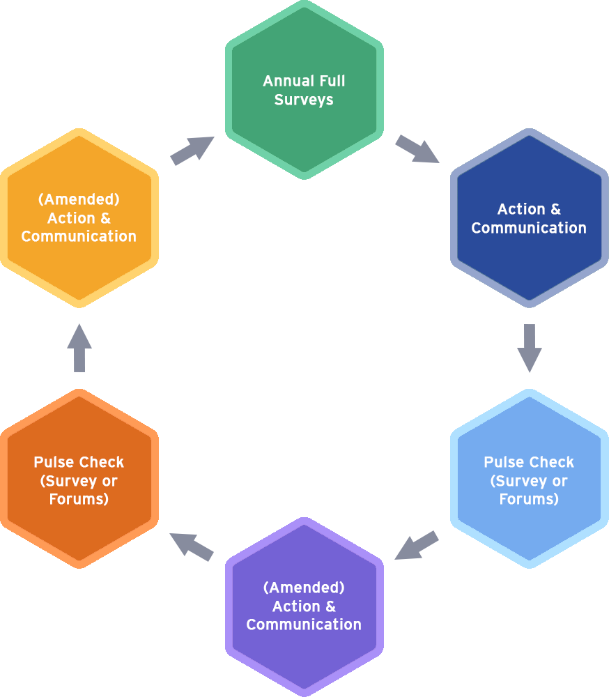 Employee Engagement Cycle Diagram 1.0